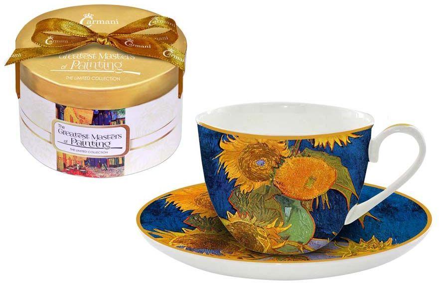 Чайная пара Carmani Подсолнухи, 2 предмета чайная пара экспресс белье 2 предмета