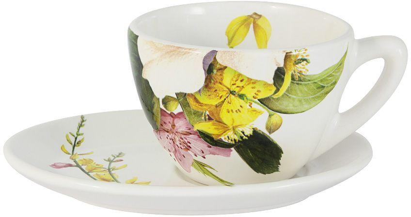 Чайная пара Ceramiche Viva Фреско. 2 предмета бутылка для масла перец чили ceramiche viva