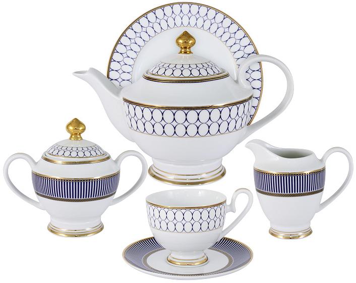 цена на Чайный сервиз Midori Адмиралтейский, 23 предмета, 6 персон. MI2-9831-Y3/23A-AL