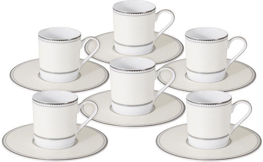 Кофейный набор Naomi Жемчуг, 100 мл, 12 предметов, NG-I150905B-C6-AL naomi pубашка