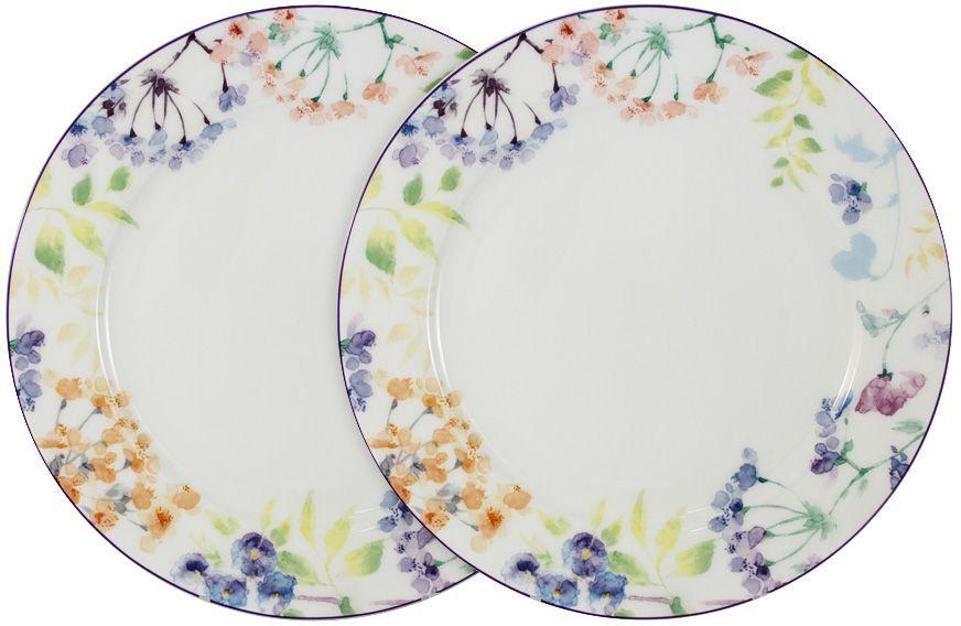 Набор обеденных тарелок Primavera Fine Bone China