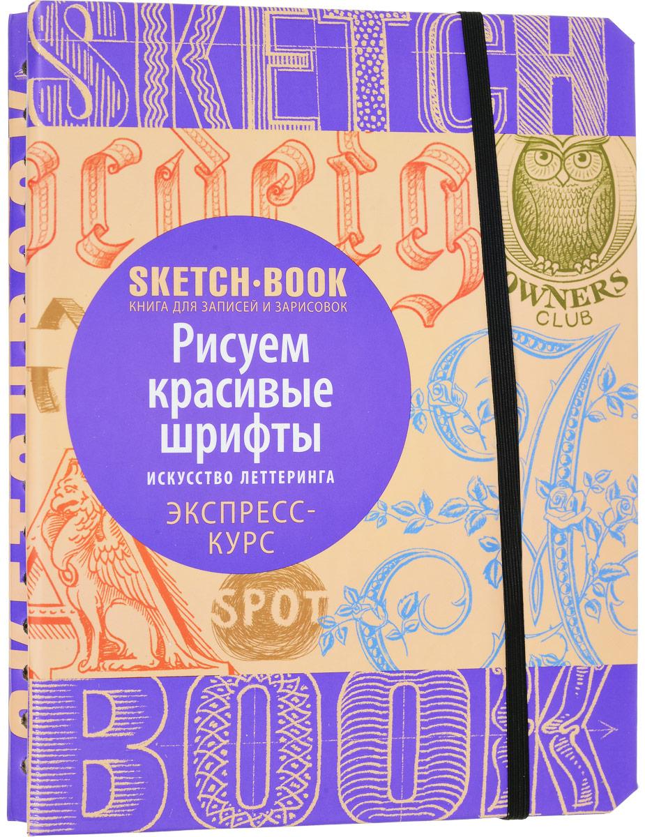 И. Пименова, И. Осипов Sketchbook. Рисуем красивые шрифты. Искусство леттеринга. Экспресс-курс рисования
