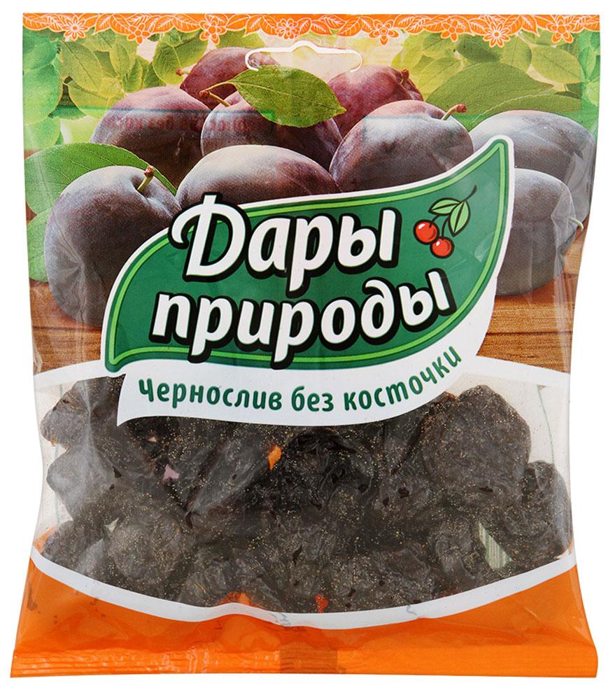 Дары природы чернослив сушеный без косточки, 150 г дары природы кайса абрикос сушеный 150 г