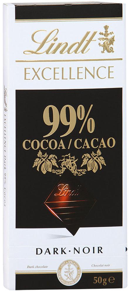 Lindt Excellence горький шоколад, 50 г цена