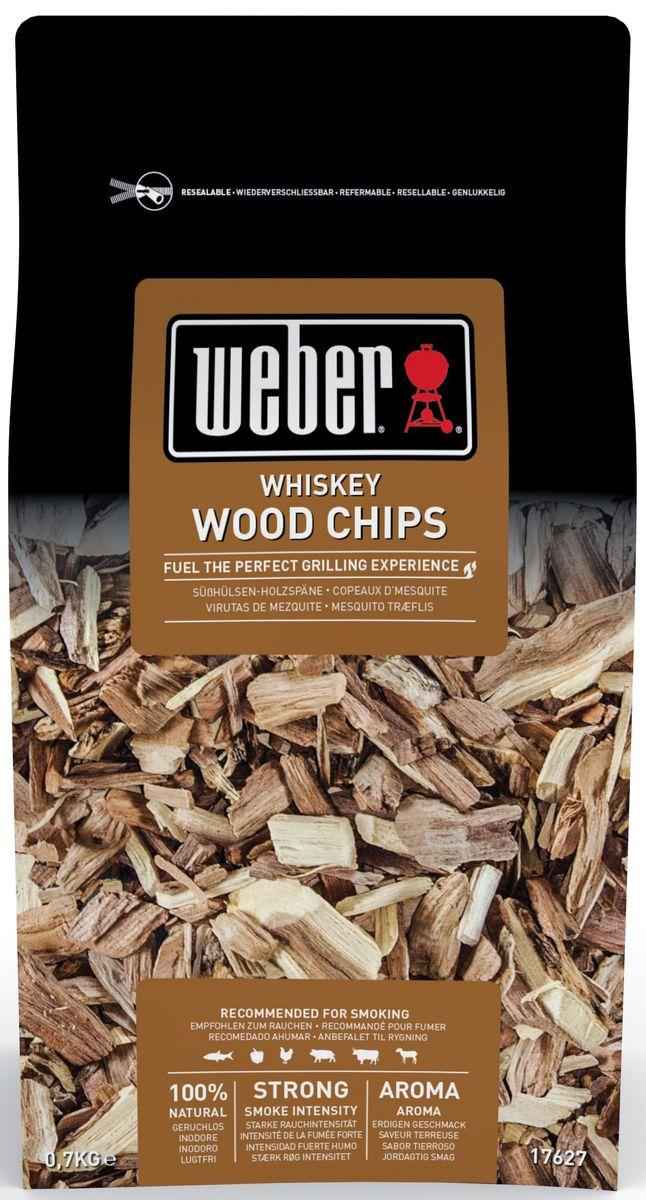 Щепа для копчения Weber Дуб Виски щепа для копчения дубовая 500 г