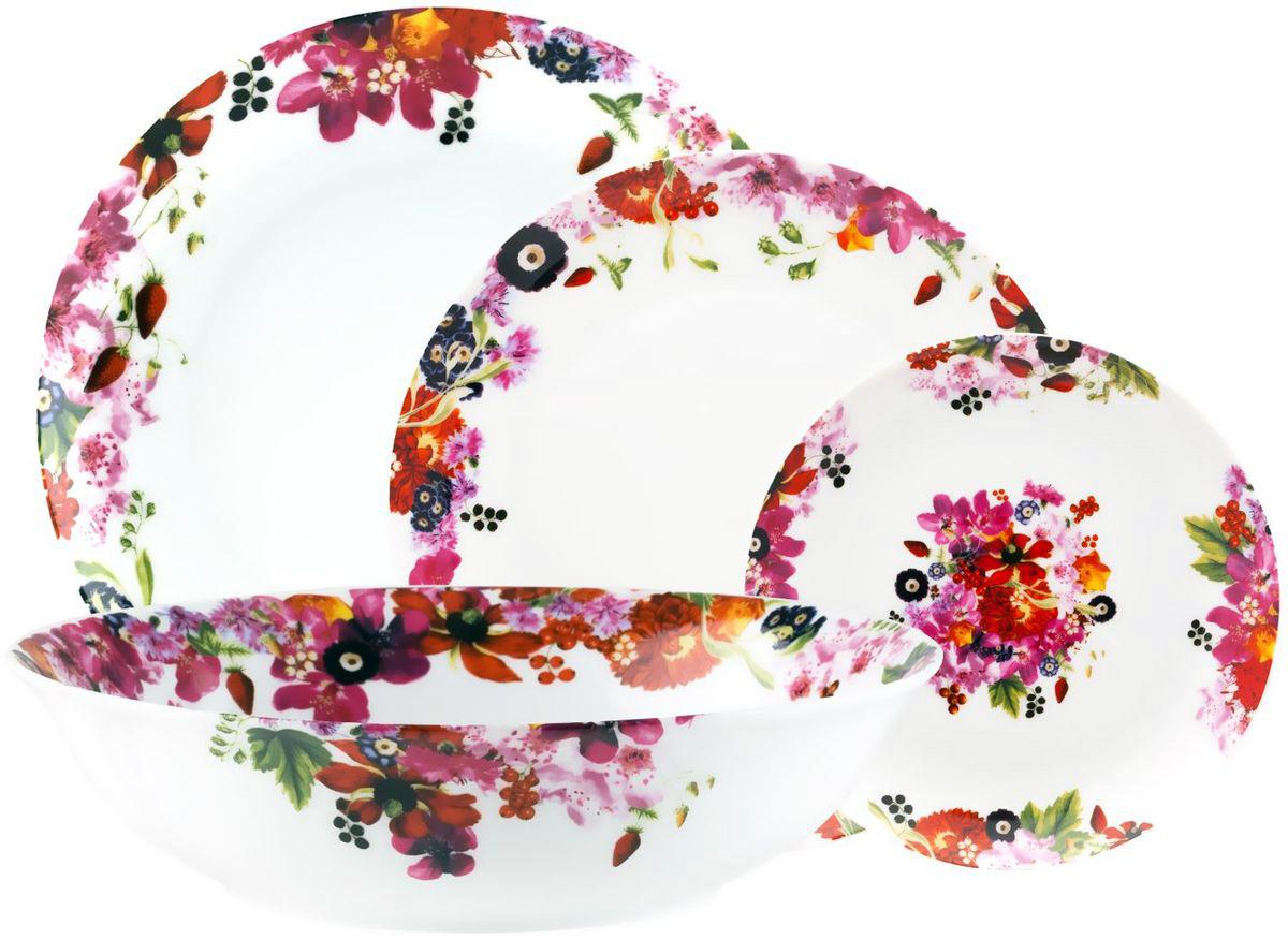 Столовый набор Domenik Fruits Bouquet, 19 предметов. DM9213 цена