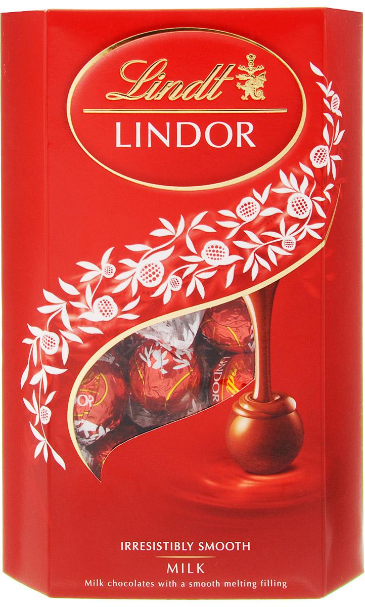 Lindt Lindor конфеты из молочного шоколада, 337 г шоколад lindt lindor молочный 200г