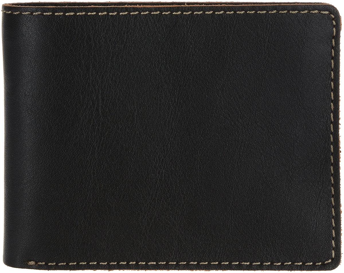 Портмоне мужское Fabula Kansas, цвет: черный. PM.27.TXF аксессуар fabula kansas black pm 7 tx ш к 03534 240584