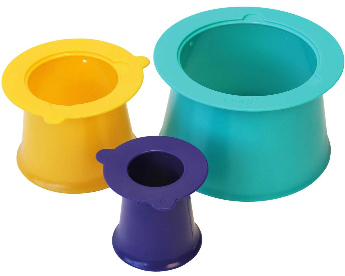 Quut Формочки для пирамид Alto игрушка для песка и снега quut triplet цвет жёлтый mellow yellow 170037