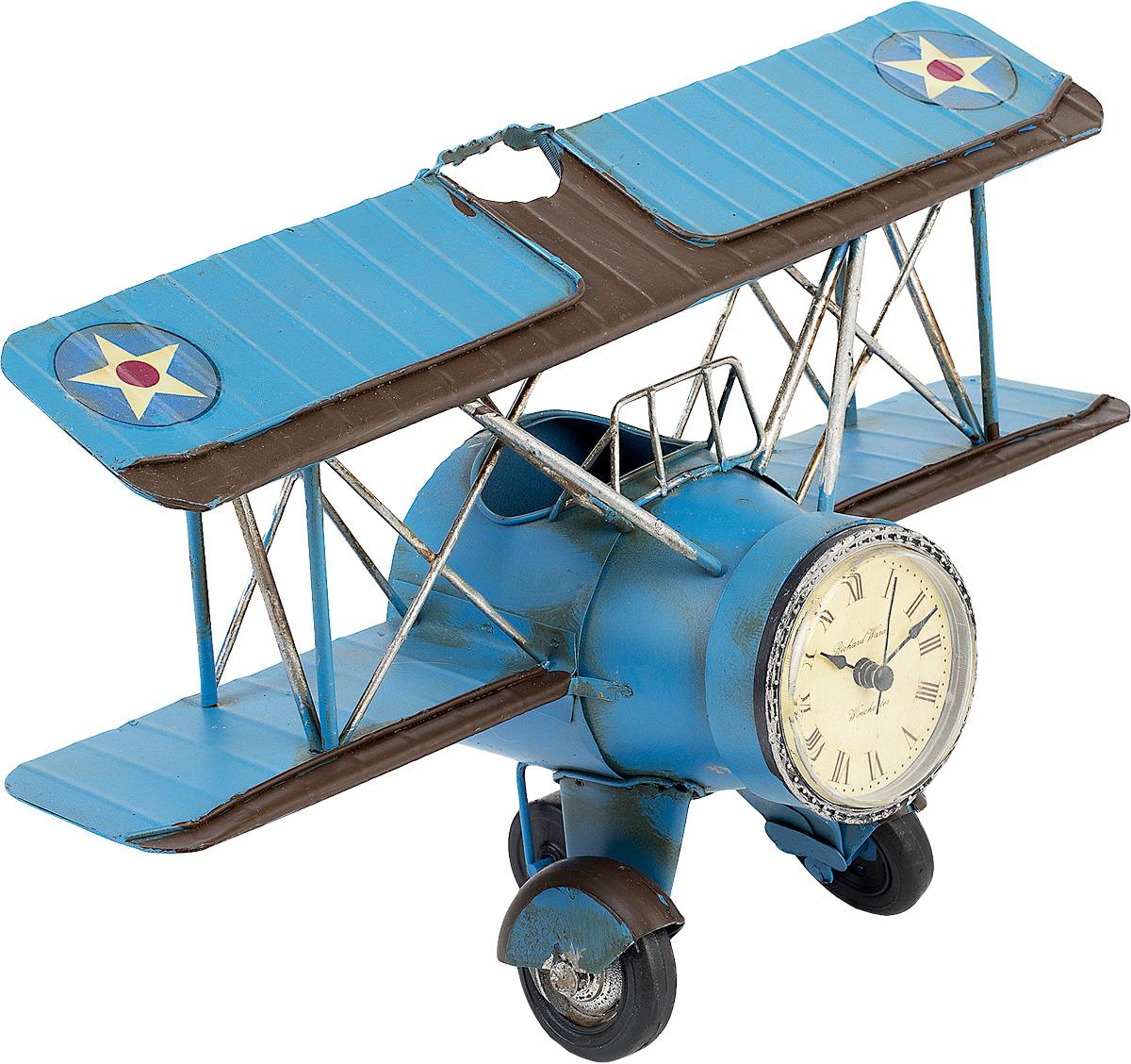 Подставка для ручек Platinum  Часы. Аэроплан