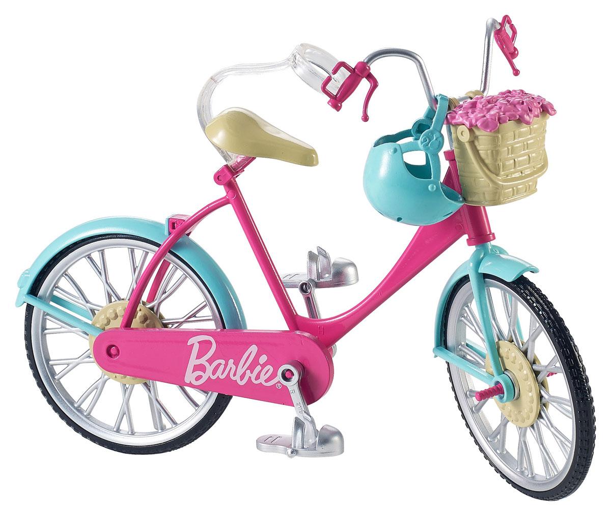 Barbie Велосипед для куклы велосипед pilsan велосипед pony в пакете