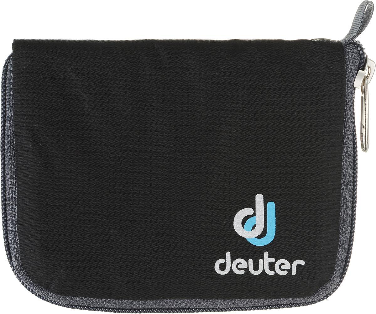 Кошелек Deuter Zip Wallet, цвет: черный pink dandelion design кожа pu откидной крышки кошелек для карты держатель для samsung j5prime