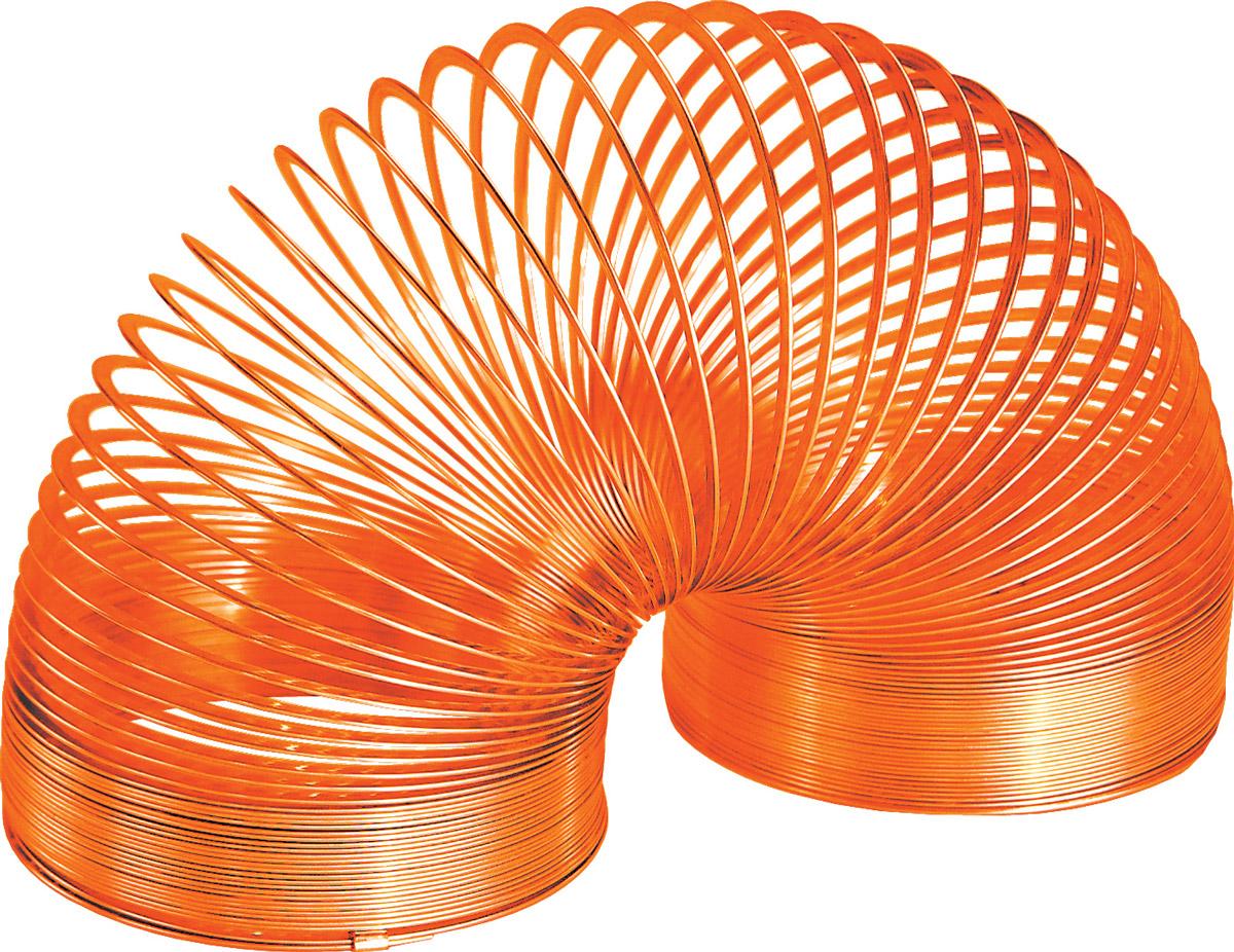 Slinky Игрушка-пружинка металлическая цвет оранжевый металлическая пружинка