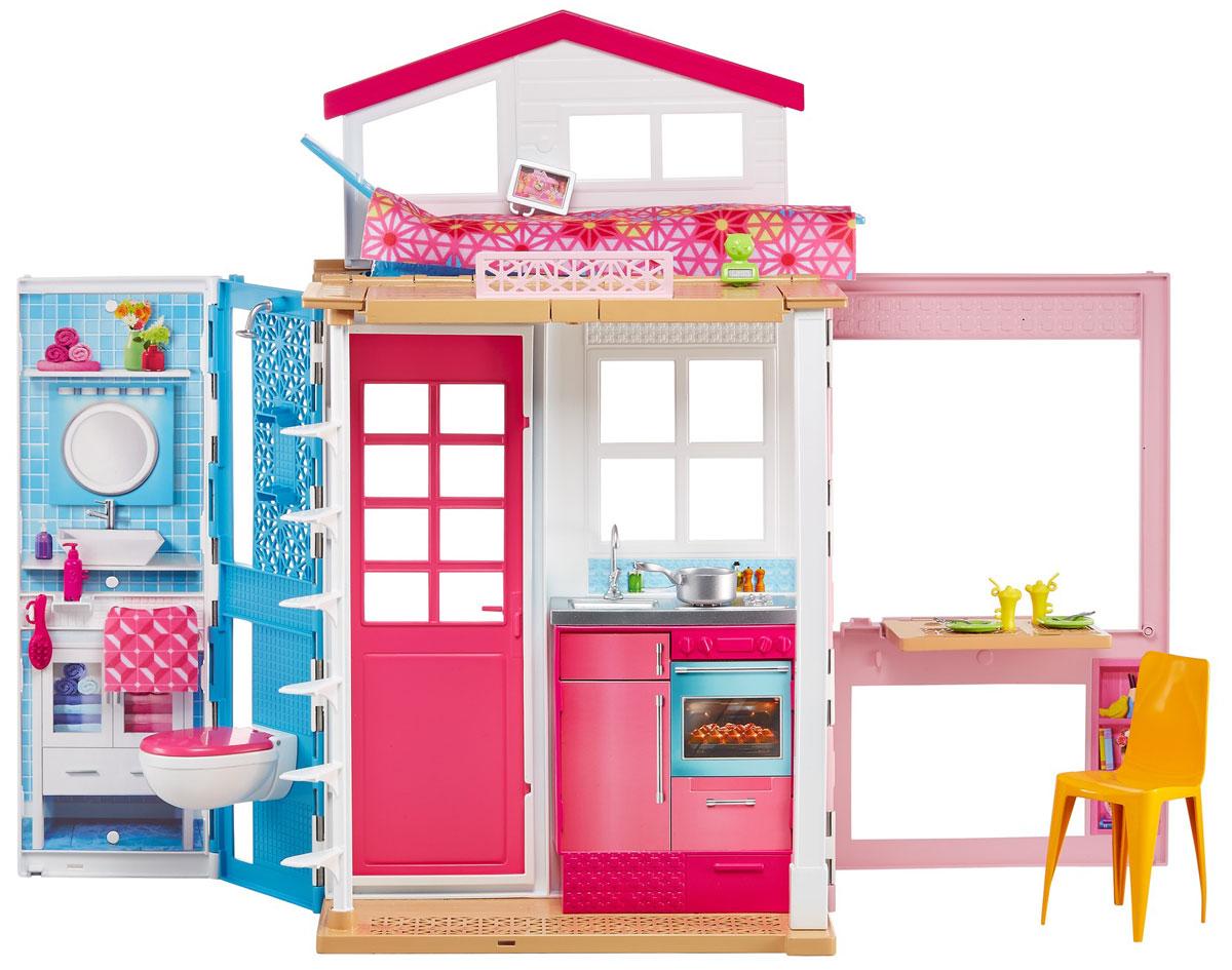 Barbie Двухэтажный домик для куклы