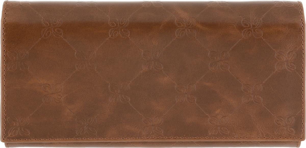 Портмоне женское Dimanche Louis Brun, цвет: коричневый. 597 ane brun sketches