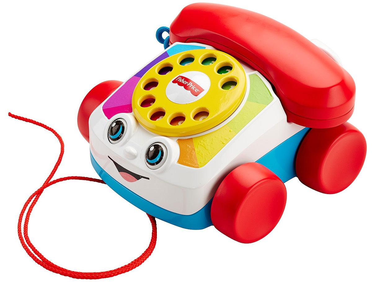 Fisher-Price Развивающая игрушка Говорящий телефон на колесах