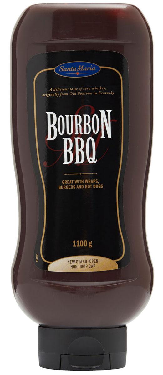 Santa Maria соус барбекю виски Бурбон, 1,1 кг heinz барбекю соус