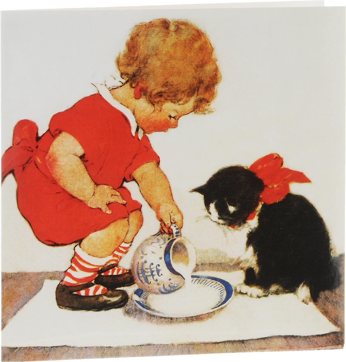 Днем рождения, открытка с любовью даринчи