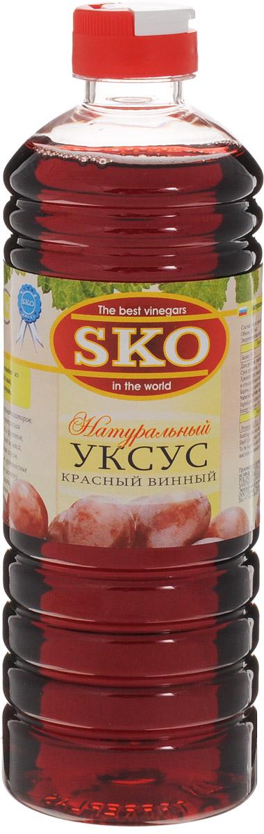 SKO уксус натуральный красный винный, 500 мл цена и фото