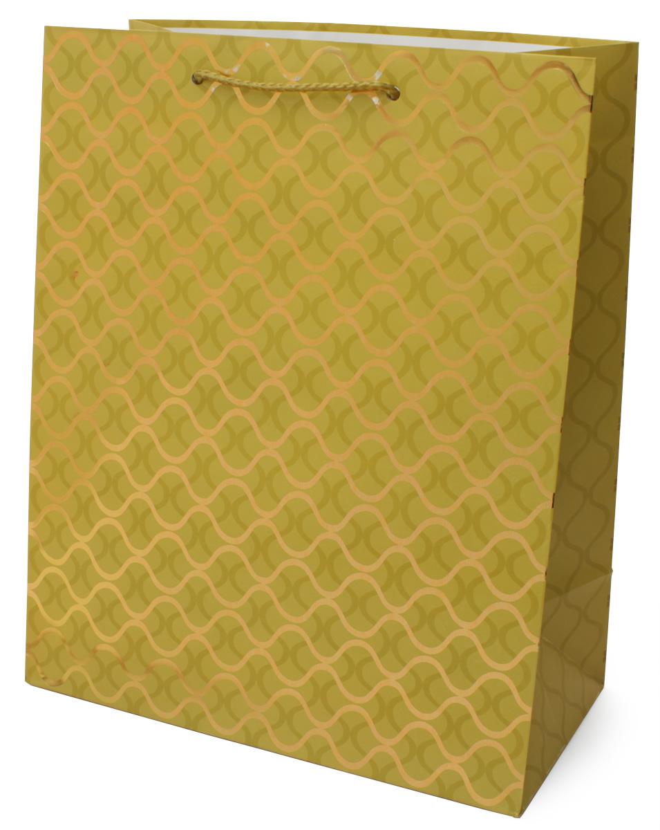"""Пакет подарочный МегаМАГ """"Premium"""", 26,4 х 32,7 х 13,6 см. 3033 LP"""