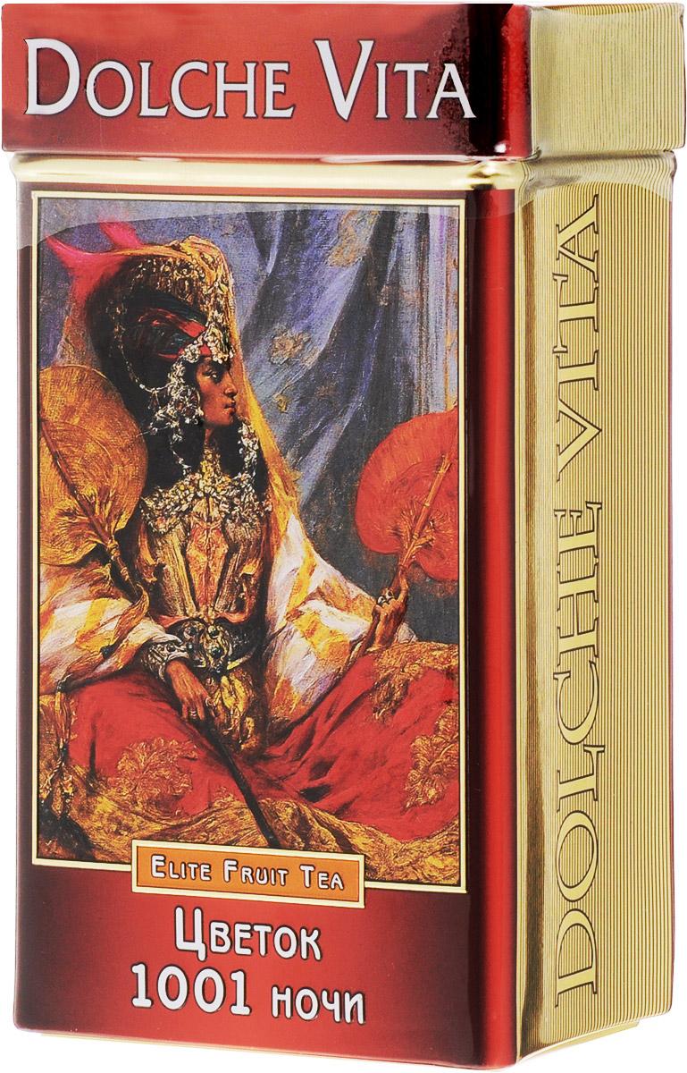 Dolche Vita Цветок 1001 ночи подарочный листовой чай, 100 г dolche vita от всего сердца подарочный набор 3 вида чая 120 г