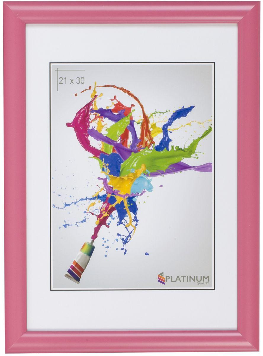 Фоторамка Platinum Милан, цвет: розовый, 21 x 30 см фоторамка platinum флоренция цвет розовый 21 x 30 см