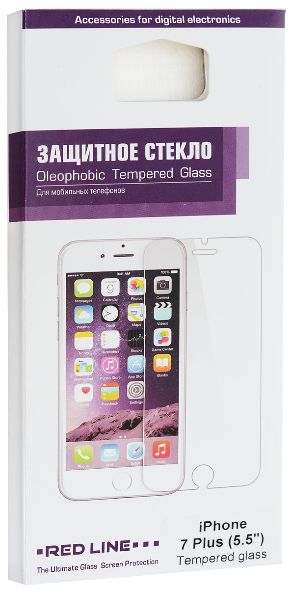 Red Line Tempered Glass защитное стекло для iPhone 7 Plus/8 Plus