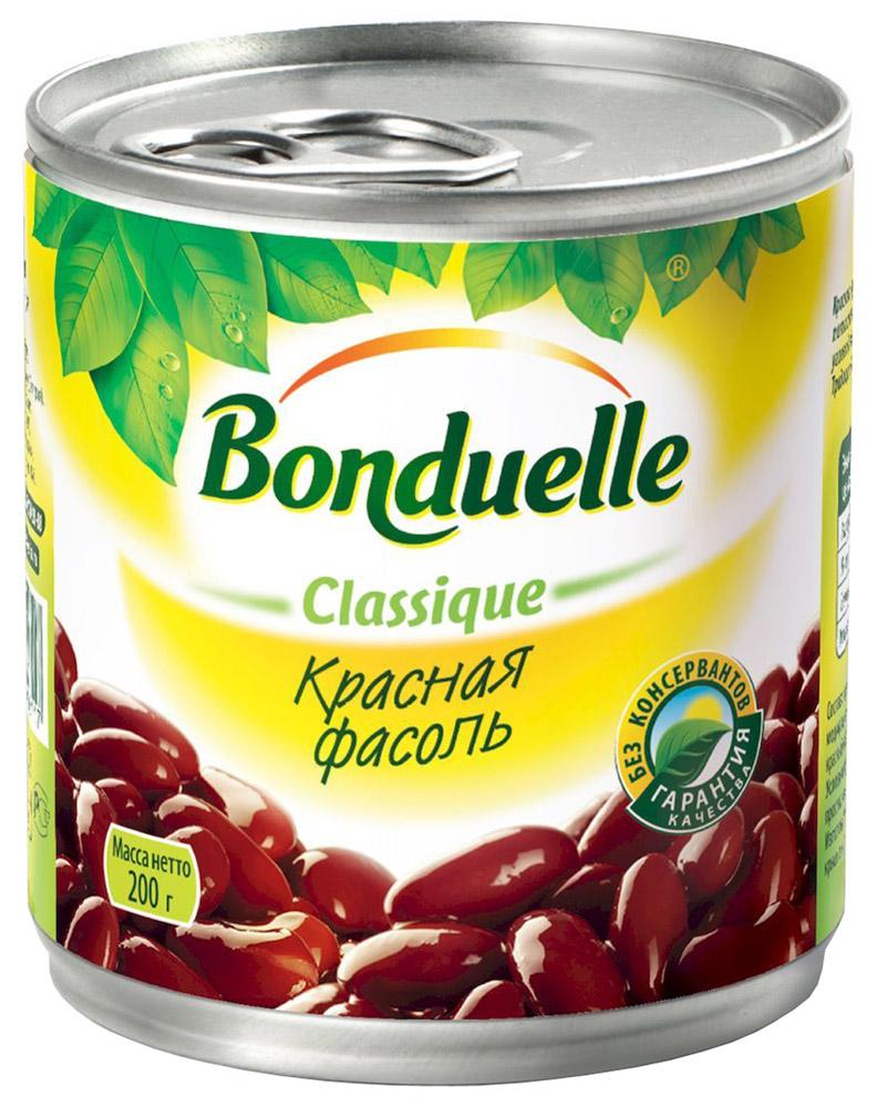 Bonduelle красная фасоль, 200 г фасоль bonduelle на пару зеленая тонкая