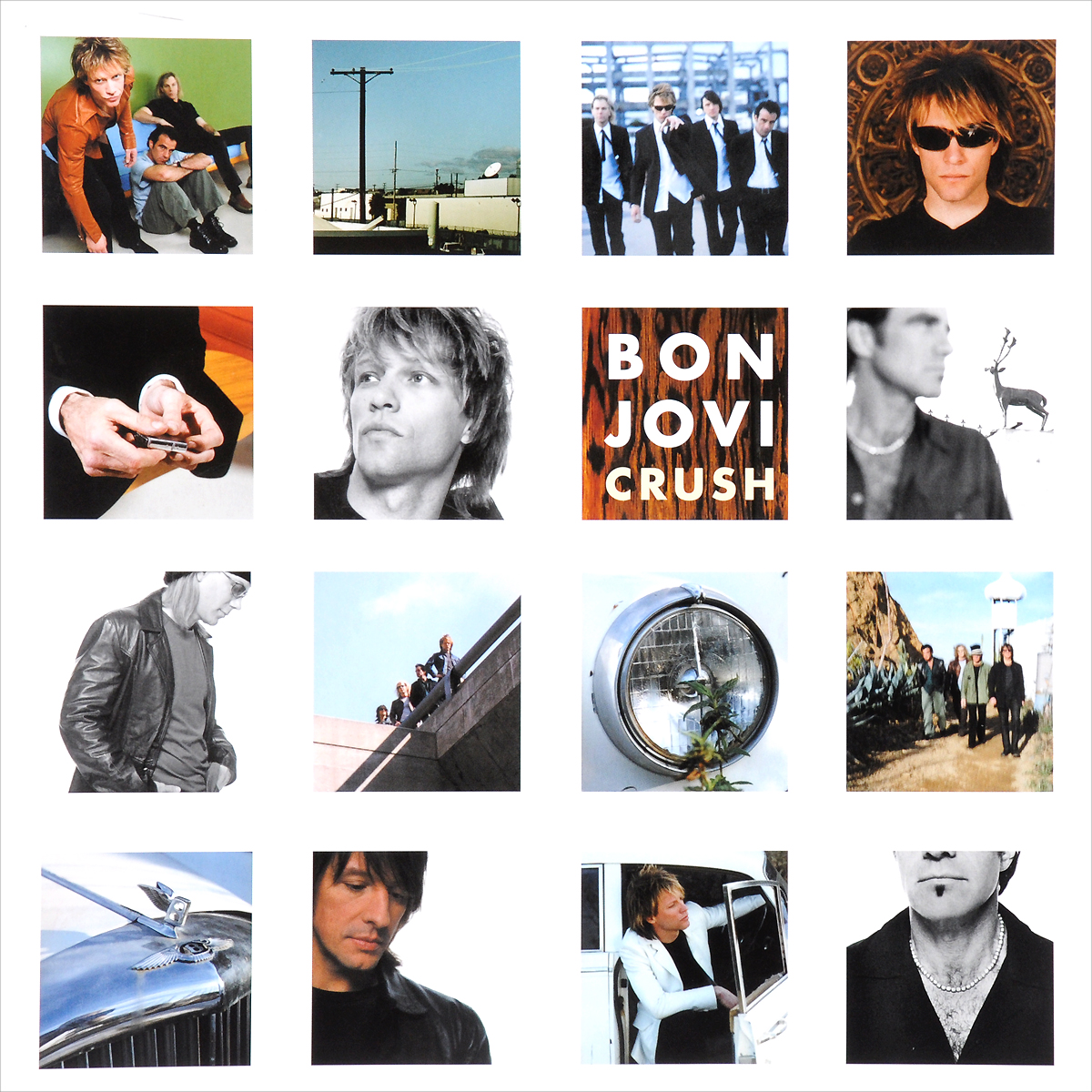 Bon Jovi Bon Jovi. Crush (2 LP) bon jovi bon jovi what about now 2 lp 180 gr