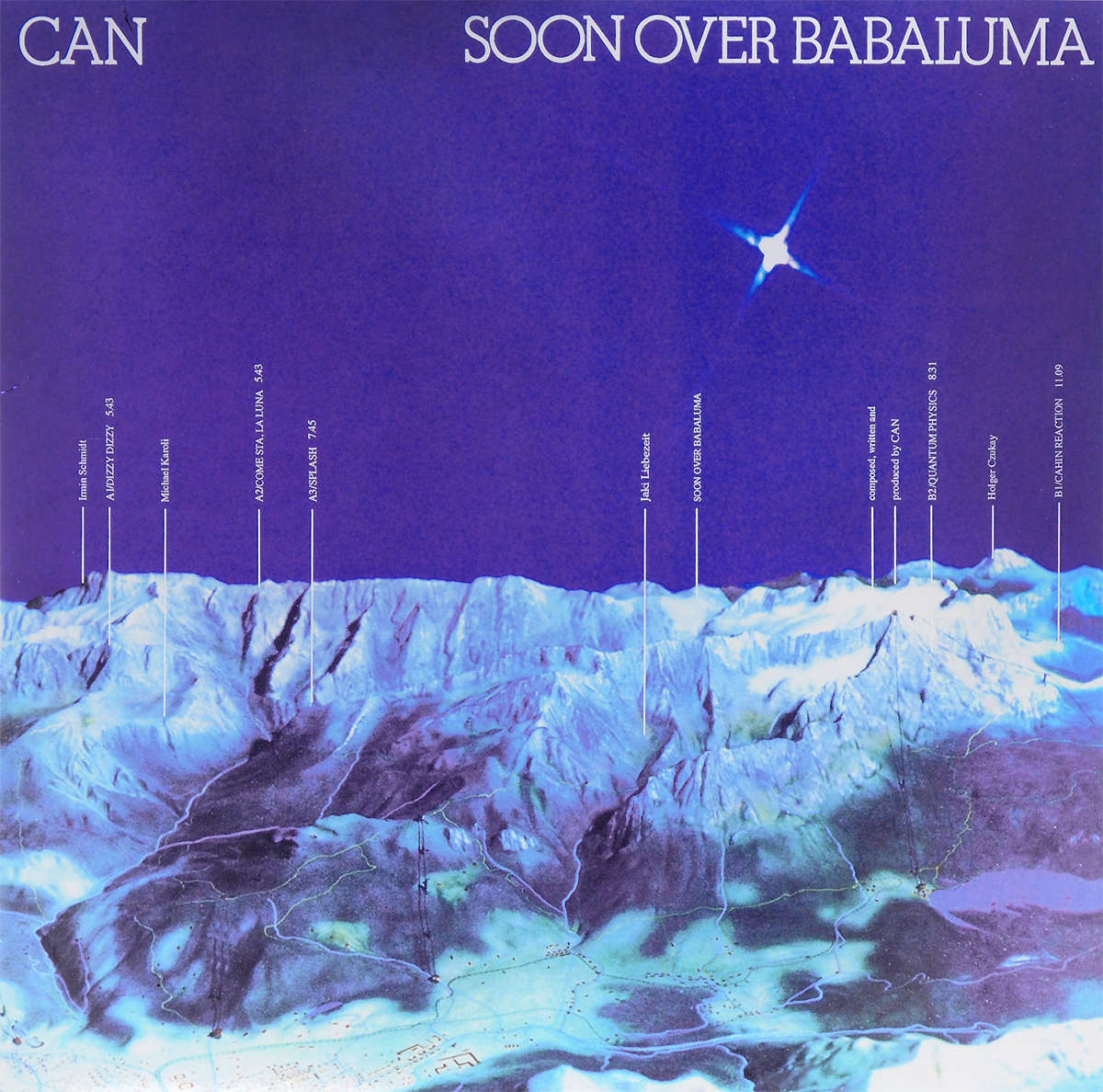 Can Can. Soon Over Babaluma (LP) can can monster movie lp