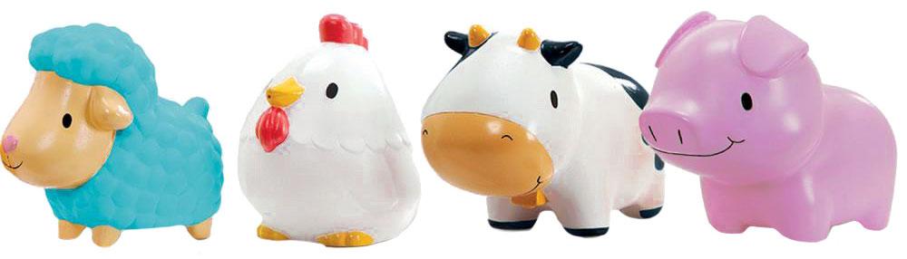 Munchkin Набор игрушек для ванной Деревенские зверюшки 4 шт цена