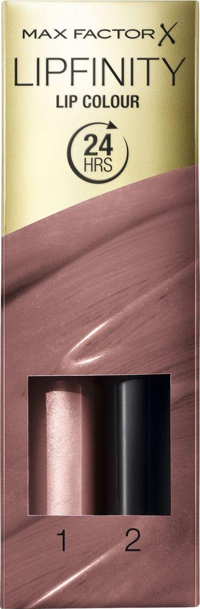 Max Factor Стойкая Губная Помада И Увлажняющий Блеск Lipfinity Essential 350 тон 2,3 мл стойкая помада и блеск max factor