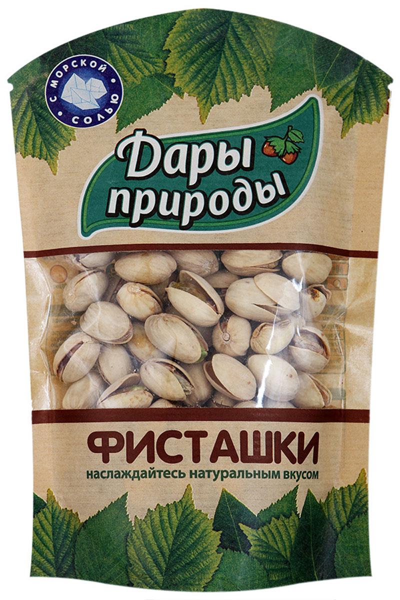 Дары природы фисташки жареные соленые, 130 г дары природы кайса абрикос сушеный 150 г