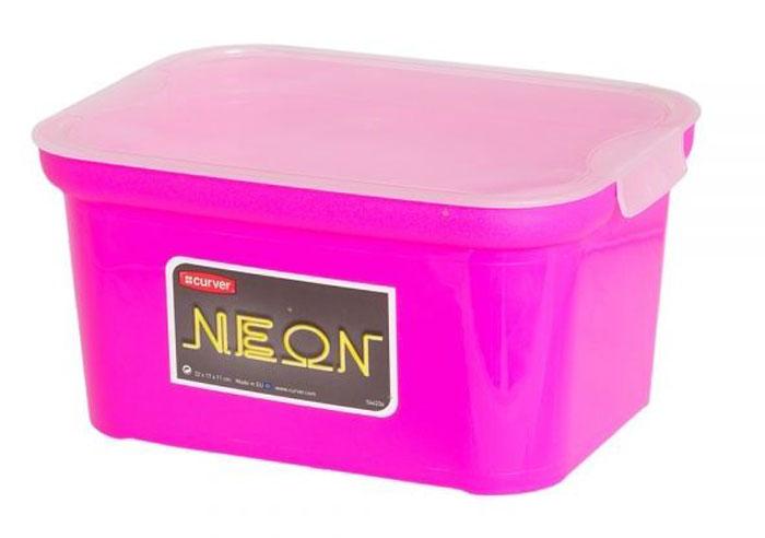 Коробка для хранения Curver Amsterdam Mini Neon, 22 х 17 х 11 см цена