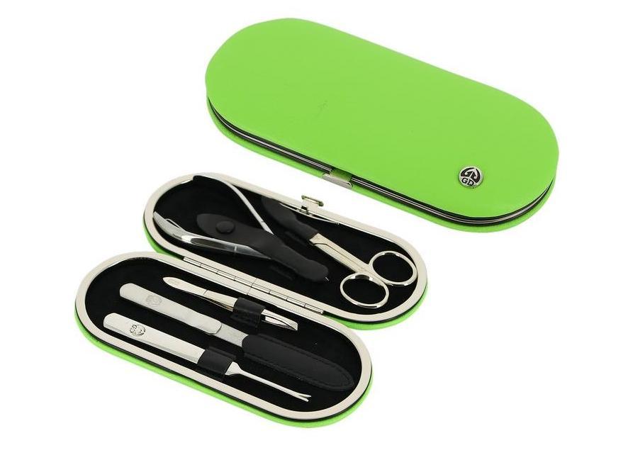 цена на GD Маникюрный набор, цвет: зеленый, 5 предметов