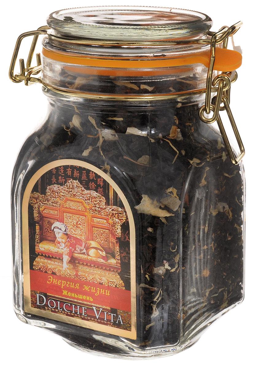 Dolche Vita Энегия жизни элитный черный листовой чай, 160 г dolche vita аристократический элитный черный листовой чай 160 г