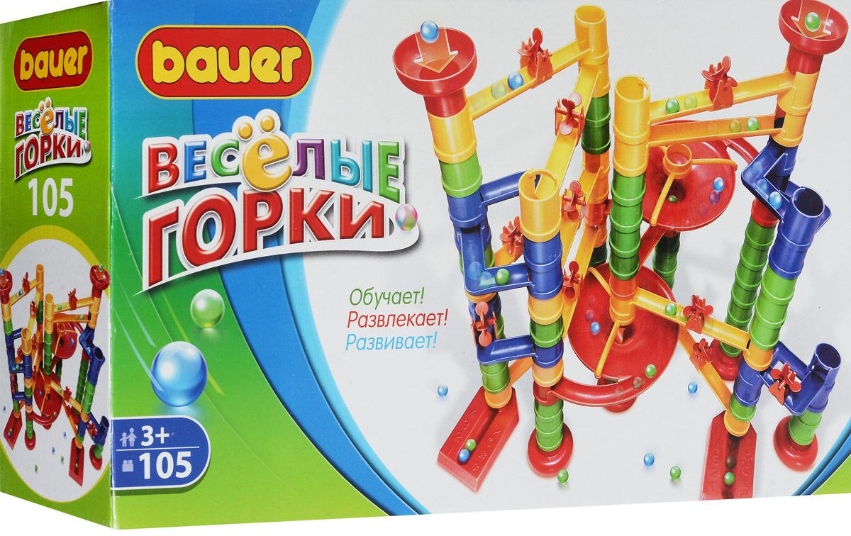 Bauer Конструктор Веселые горки 274 bauer bauer конструктор веселые горки 145 элементов