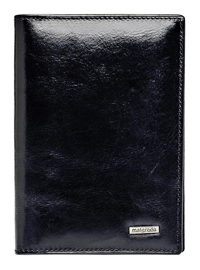 Обложка для паспорта Malgrado, цвет: черный. 54019-1-64D Black обложка для паспорта malgrado цвет красный 54019 1 44