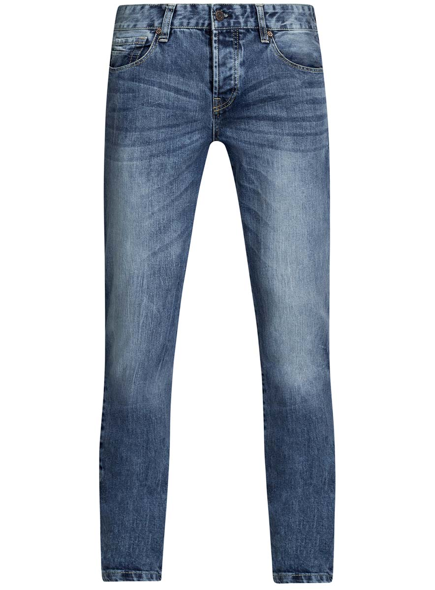 Джинсы oodji джинсы мужские oodji lab цвет синий джинс 6l120128m 45068 7500w размер 29 32 46 32