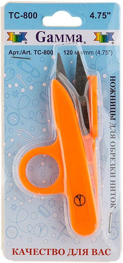 Ножницы для обрезки ниток Gamma, длина 12 см ножницы универсальные gamma длина 19 5 см