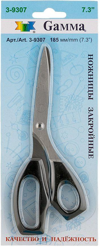 Ножницы закройные Gamma, длина 18,5 см ножницы универсальные gamma длина 19 5 см