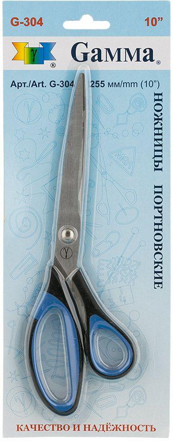 Ножницы портновские Gamma, длина 25,5 см ножницы универсальные gamma длина 19 5 см