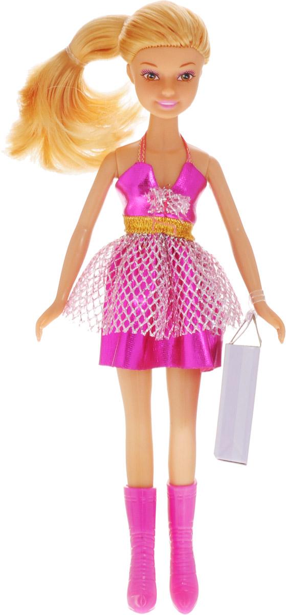 Defa Кукла Lucy цвет платья фуксия платье lucy