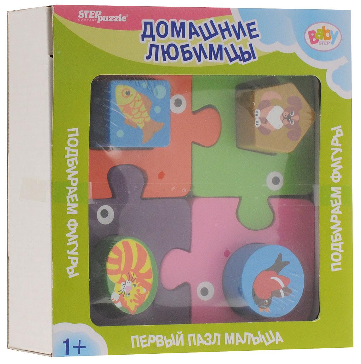 Step Puzzle Пазл для малышей Домашние любимцы step puzzle пазл для малышей тачки 89122