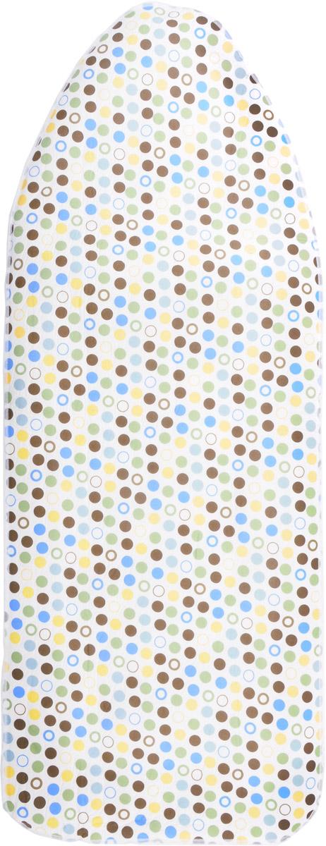 Чехол для гладильной доски Paterra, 402-480, с поролоном, цвет в ассортименте, 146 х 55 см чехол для гладильной доски paterra цветы с поролоном цвет белый синий 146 х 55 см