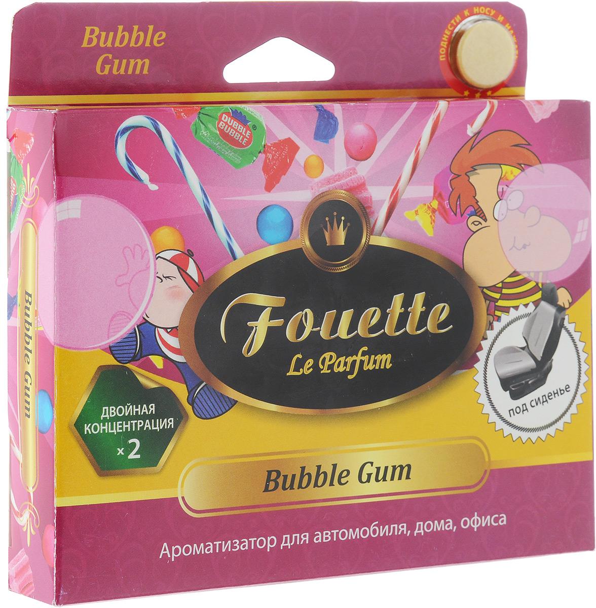 Ароматизатор для автомобиля Fouette Collection Aromatique. Bubble Gum, под сиденье, 200 г ароматизатор воздуха f 15 лакомый нектар под сиденье двойной концентрации 200 мл fouette