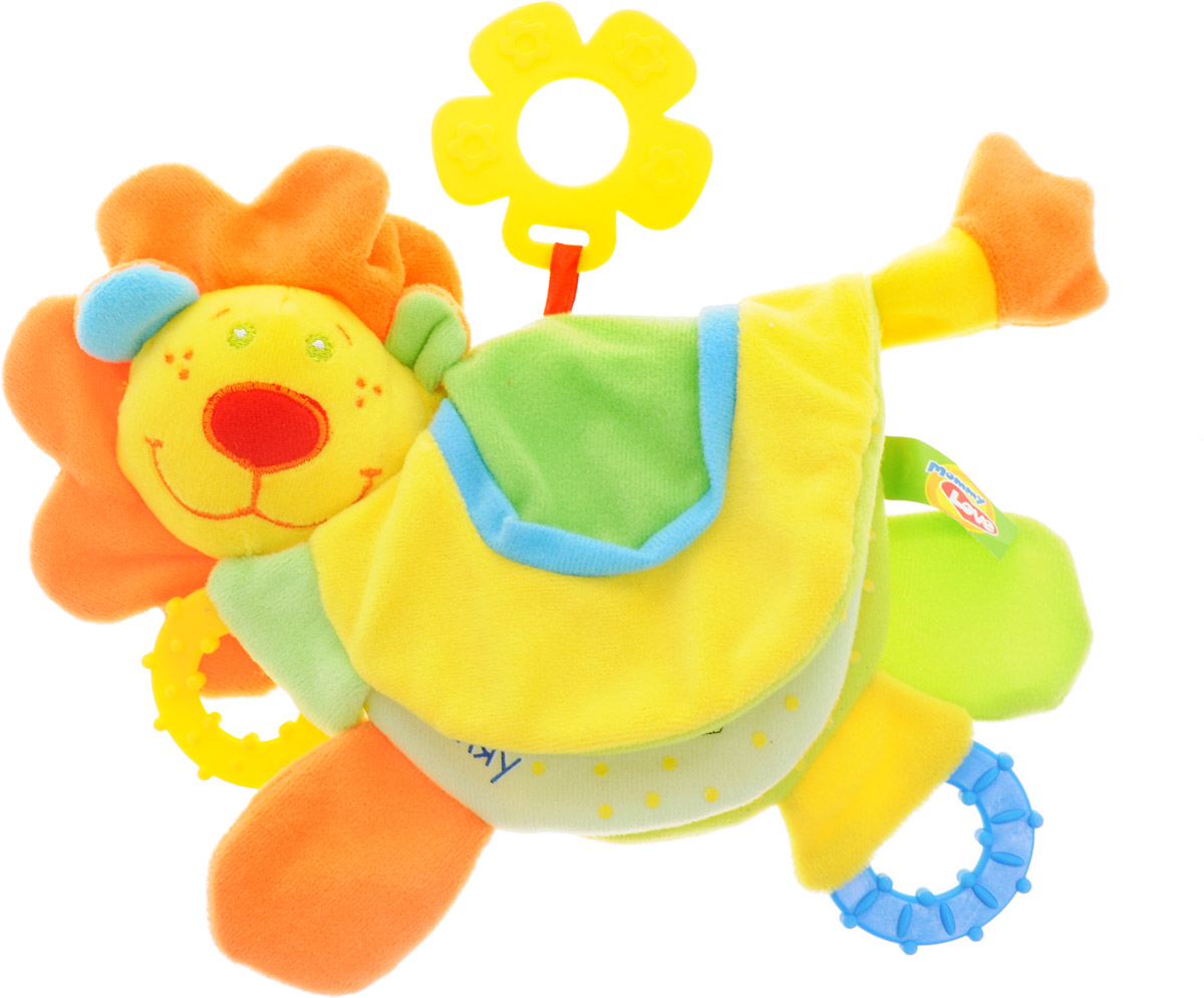 Mommy Love Развивающая игрушка Лев Роро mommy love развивающая игрушка веселое путешествие кораблик цвет голубой желтый