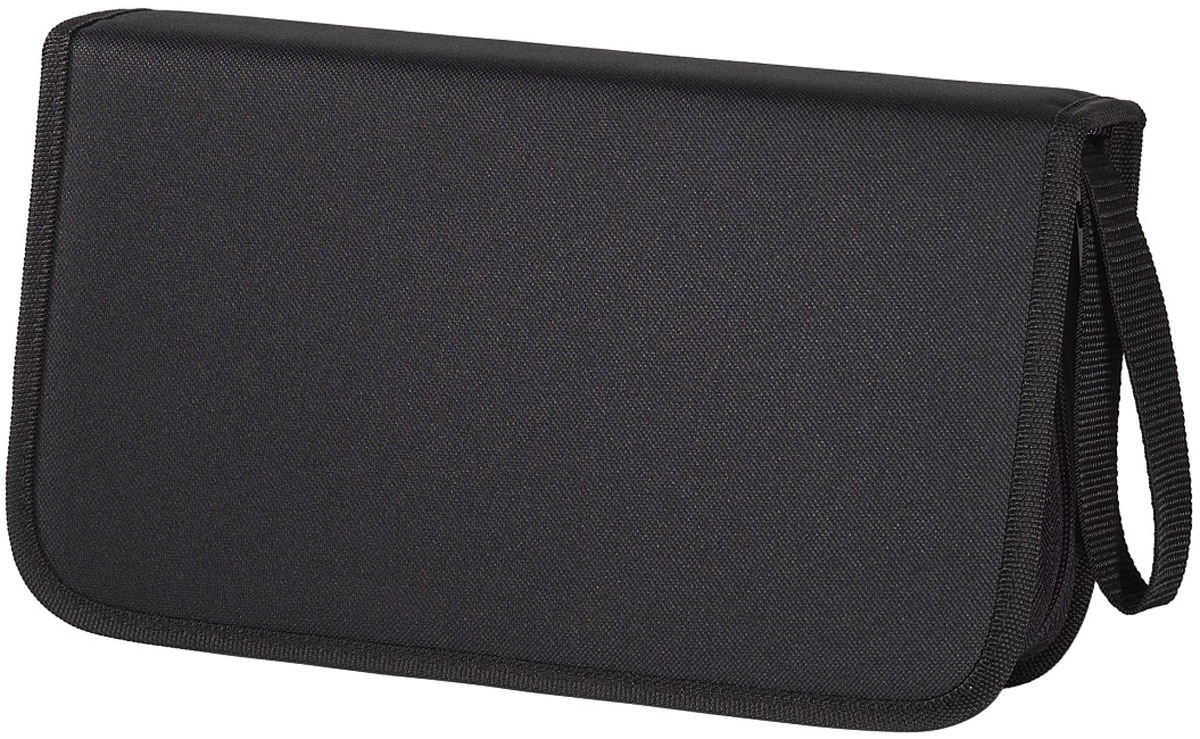 Сумка для CD Hama H-11617 Nylon, Black (104 шт) hama h 103448 black