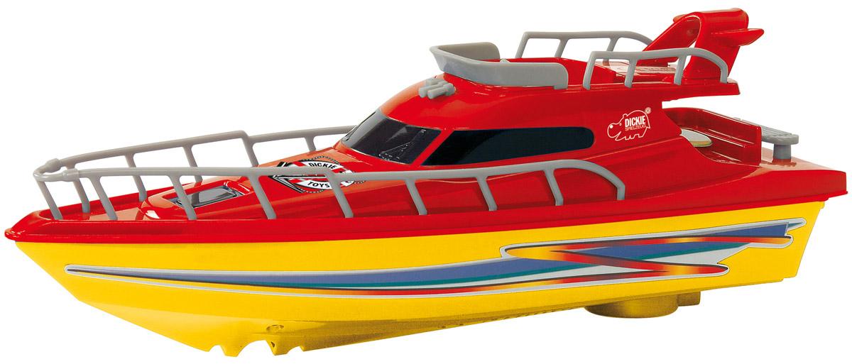 Dickie Toys Яхта Ocean Dream цвет желтый красный радиоуправляемые игрушки dickie
