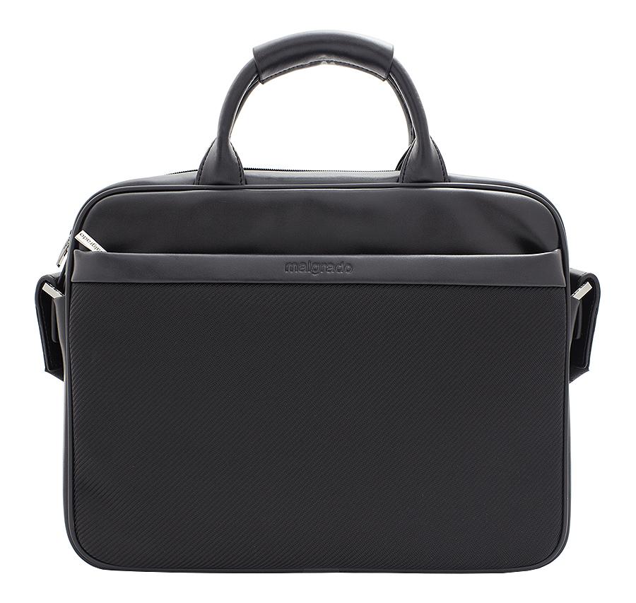 Портфель мужской Malgrado, цвет: черный. BR02-28C1886 цена